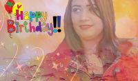 سمر الحسنى تحتفل بعيد ميلادها مع الالتزام بالجراءت