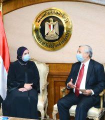 سبل تعزيز التعاون الاقتصادي بين اندونيسيا و مصر