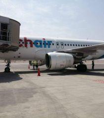 مطار القاهرة الدولي يستقبل اولي رحلات الشركة السويسرية