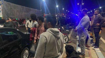 حادث مروع في السويس