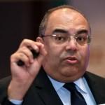 محمود محي الدين و طلاب جامعه النيل