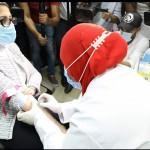 وزيرة الصحة المصرية اخذت التطعيم اليوم ضد فيروس كورونا في المرحلة الاخيرة من التجارب