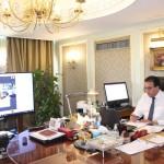 وزير التعليم العالي يبحث آليات التعاون العلمي و البحثي مع وزير التعليم السعودي