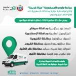 """الصحة : إطلاق ستة قوافل طبية ضمن مبادرة رئيس الجمهورية  """" حياة كريمه """""""