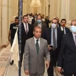 جولة تفقدية لوزير شئون المجالس النيابية بمجلس الشيوخ