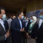 رئيس الوزراء يتفقد مشروع انشاء مستشفي الطواريء بجامعة مفر الشيخ عقب زيارته  لكلية علوم الثروة السمكية