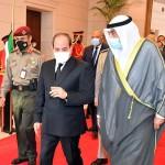 زيارة الرئيس عبدالفتاح السيسي الي الكويت