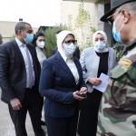 وزيرة الصحة تتفقد مركز طبي النزهة الجديدة
