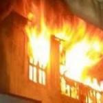 حريق هائل بمصنع في اكتوبر بتزامن مع عقار الهرم