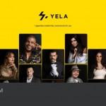 """اطلاق منصة """"yela"""" الالكترونية لرسائلالشخصيةمنأكبرالنجوم"""