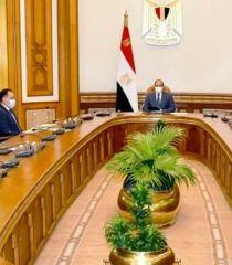 السيسي : يوجه بتوفير مواد الانتاج لمدينة دمياط للاثاث